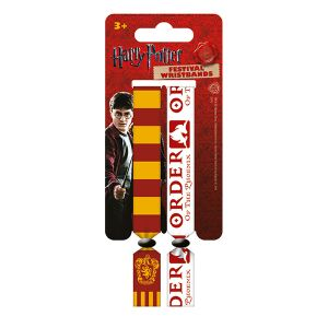 [Harry Potter: Festival Wristbands: Gryffindor (Product Image)]