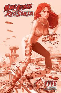 [Mars Attacks/Red Sonja #5 (Suydam Tint Variant) (Product Image)]