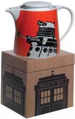 [Doctor Who: Teapot: Dalek (Orange) (Product Image)]