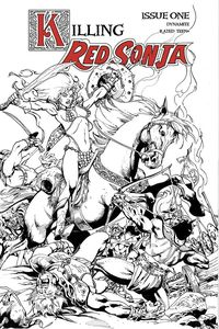 [Killing Red Sonja #1 (Castro B&W Variant) (Product Image)]