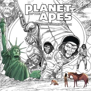 [Planet Of The Apes: Adult Coloring Book (Product Image)]