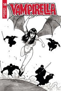 [Vampirella #14 (Peeples Homage Black & White Variant) (Product Image)]