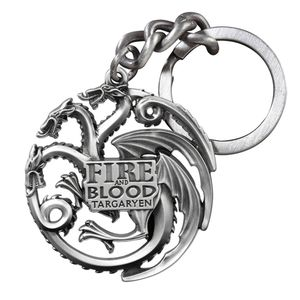 [Game Of Thrones: Keychain: Targaryen Sigil (Product Image)]