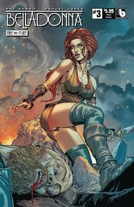[Belladonna: Fire Fury #3 (Shield Maiden) (Product Image)]