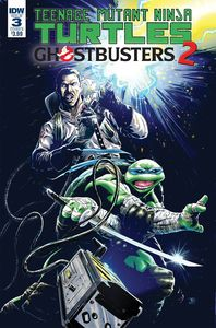 [Teenage Mutant Ninja Turtles/Ghostbusters II #3 (Cover B Galusha) (Product Image)]