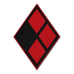 [DC: Logo Patch: Harley Quinn (Product Image)]