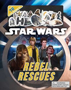 [Star Wars: Rebel Rescues: Magnetic Fun On Every Page (Hardcover) (Product Image)]