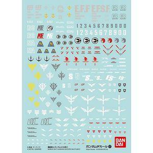 [Gundam: Decal Sheet: 107: Gundam Unicorn 1 (Product Image)]
