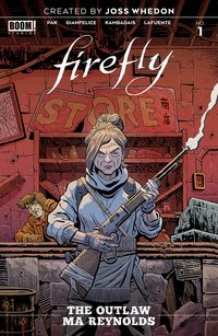 [The cover for Firefly: Outlaw Ma Reynolds #1 (Cover A Young)]