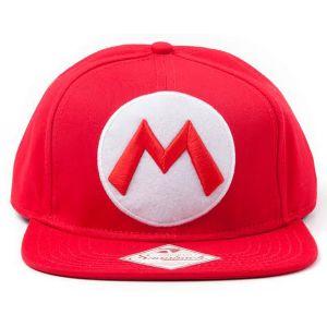 [Nintendo: Cap: Mario Logo (Product Image)]