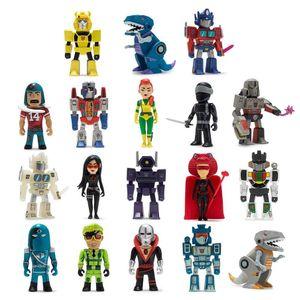 [Kidrobot: Mini Series Vinyl Figures: Transformers Vs GI Joe (Product Image)]