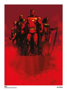 [Justice League By Jock: Giclee Print (Signed Edition) (Product Image)]