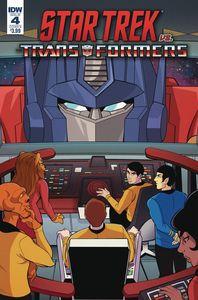 [Star Trek Vs Transformers #4 (Cover B Tramontano) (Product Image)]