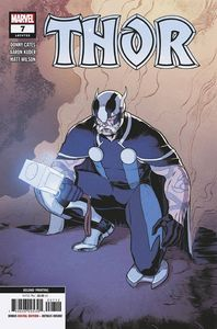 [Thor #7 (2nd Printing Klein Variant) (Product Image)]