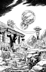 [Firefly #27 (Cover E Young B&W Variant) (Product Image)]