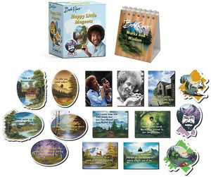 [Bob Ross: Happy Little Magnets (Product Image)]