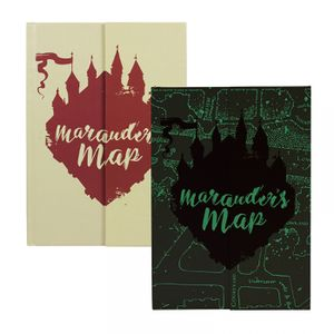 [Harry Potter: Notebook: Mauraders Map (Product Image)]