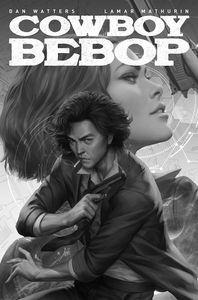 [Cowboy Bebop #1 (Cover F Stanley 'Artgerm' Lau B&W Variant) (Product Image)]