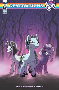 [My Little Pony: Generations #2 (Cover A Cacciatore) (Product Image)]