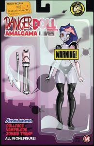 [Danger Doll Squad Presents: Amalgama Lives #3 (Cover F Mendoza R) (Product Image)]