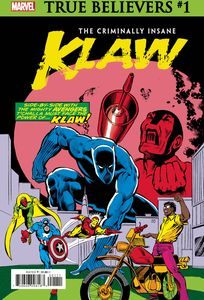 [True Believers: Criminally Insane: Klaw #1 (Product Image)]