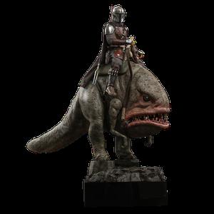 [Star Wars: The Mandalorian: Hot Toys Action Figure: The Mandalorian & Blurgg (Product Image)]
