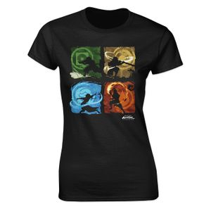 [Avatar The Last Airbender: Women's Fit T-Shirt: Benders Of The Elements (Product Image)]