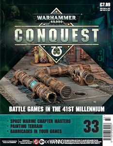 [Warhammer 40K: Conquest: Figurine Collection #33 (Product Image)]