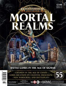 [Warhammer: Age Of Sigmar: Mortal Realms #55 (Product Image)]