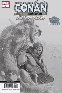 [Conan The Barbarian: Exodus #1 (2nd Printing Ribic Variant) (Product Image)]