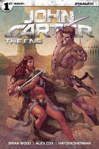 [John Carter: The End #1 (Cover C Rubi) (Product Image)]