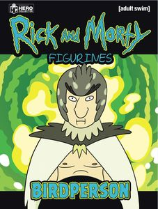 [Rick & Morty Figurine Collection #7: Birdperson (Product Image)]