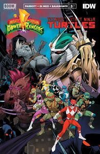 [Power Rangers/Teenage Mutant Ninja Turtles #3 (Cover A Mora) (Product Image)]