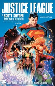 [Justice League By Scott Snyder: Book 1 (Deluxe Edition Hardcover) (Product Image)]