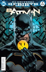 [Batman #21 (The Button - Lenticular Variant Edition) (Product Image)]