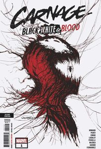 [Carnage: Black White & Blood #1 (Of 4) (2nd Printing Gleason Variant) (Product Image)]