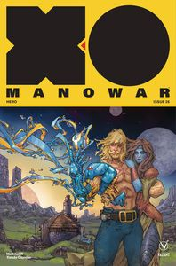 [X-O Manowar (2017) #26 (Cover A Rocafort) (Product Image)]