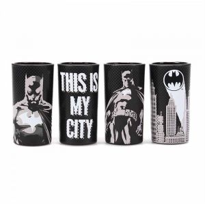 [Batman: Glasses: Poses (Set Of 4) (Product Image)]