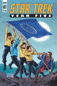 [Star Trek: Year Five #15 (Cover A Thompson) (Product Image)]