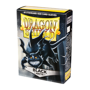 [Dragon Shield: Matte Sleeves: Black (60) (Product Image)]