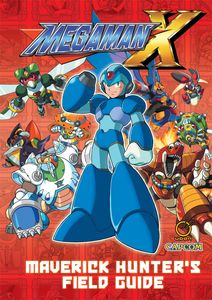 [Mega Man X: Maverick Hunters Field Guide (Hardcover) (Product Image)]