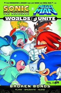 [Sonic/Mega Man: Worlds Unite: Volume 2: Broken Bonds (Product Image)]