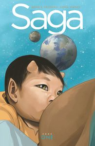 [Saga: Book 1 (Deluxe Edition Hardcover) (Product Image)]