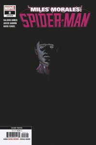 [Miles Morales: Spider-Man #8 (2nd Printing Garron Variant) (Product Image)]