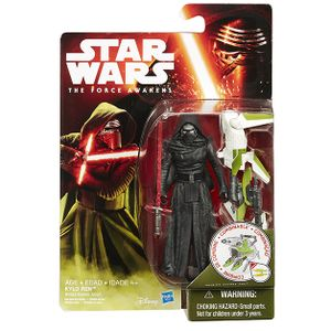 [Star Wars: The Force Awakens: Wave 2 Jungle & Space Action Figures: Kylo Ren Winged Pikes (Product Image)]