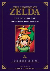 [The Legend Of Zelda: Volume 4: The Minish Cap & Phantom Hourglass (Legendary Edition) (Product Image)]