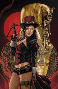 [Grimm Fairy Tales: Van Helsing Vs The Mummy Of Amun Ra #6 (Cover C Ruiz) (Product Image)]