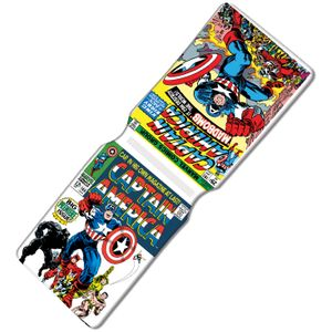 [Marvel: Travel Pass Holder: Captain America Classic Covers (Product Image)]