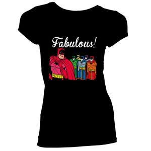 [Batman: Women's Fit T-Shirt: Fabulous (Product Image)]