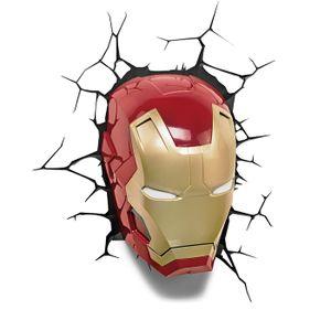[Avengers: 3D Deco LED Wall Light: Iron Man (Product Image)]